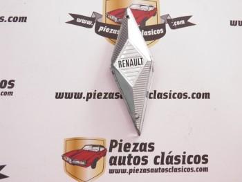 Anagrama delantero Rombo Renault 8 1ª serie