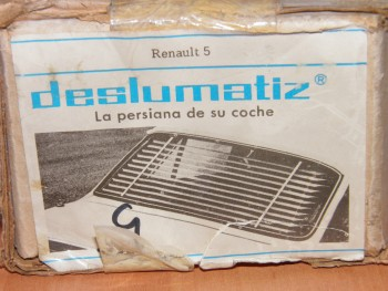 Persianilla Trasera Renault 5