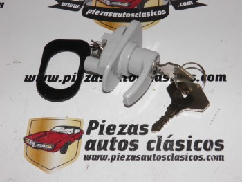 Manilla de apertura de portón trasero Renault 4 Clan con llaves