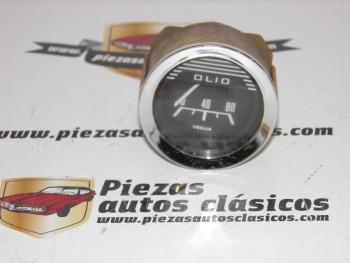 Reloj De Presión Aceite Veglia Cromado Seat,Renault, Simca,Fiat....