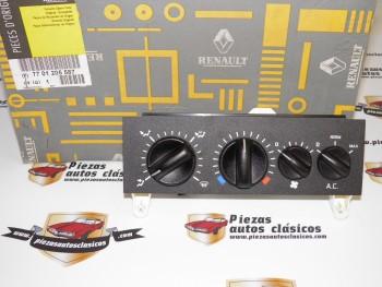 Mando Calefacción y Aire Acondicionado Renault 19, Clio I , Master Desde 1998-2010 Ref:7701205587