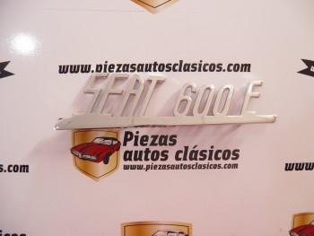 Anagrama trasero Seat 600 E aluminio