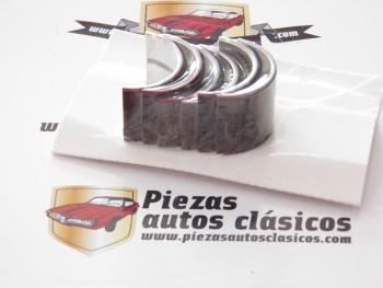 Juego casquillos de bancada Renault 4, 4 CV, Dauphine... motor Ventoux (sobremedida 0,25)