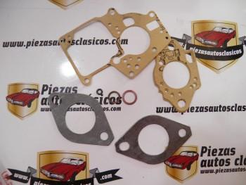 Juego solo juntas carburador Solex 32 SEIA Renault 5 TL, 5 GTL y 7