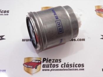 Filtro de gasoil XD142 Citroën AX (1.4 D), Saxo (1.5 D) Fiat Brava, Bravo, Marea, Punto, Tempra, Tipo, uno Peugeot 106