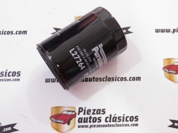 Filtro de aceite  L27264  Opel  Ascona, Astra, Kadett, Vectra (1.6D/1.7D)