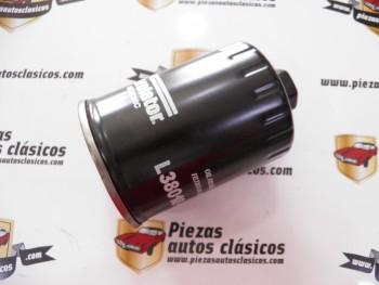 Filtro de aceite PL5018 Renault Express (1.6 D) y Clio (1.9 D)