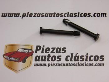Kit de dos sujeciones de tapa guantera Renault Fluence Ref: 7701207726