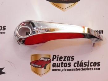 Manilla plástica cromada derecha Renault 4