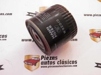 Filtro de aceite  W920/3  Ford  Granada, Scorpio I, Sierra y Tata (Diesel)