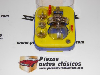 Estuche Juego Bombillas R2 12V