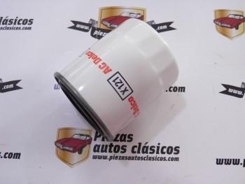 Filtro de aceite  X121  Nissan  200 SX, 3007X, Primera, Serena y Vanette   BMW  3 y 5
