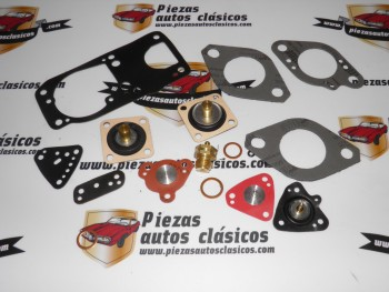 Kit carburador SOLEX 32 DIS Renault Súper 5 y GT Turbo