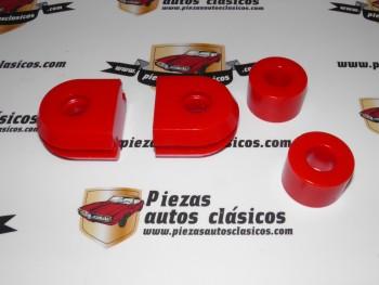 Kit silemblocks de estabilizadora de poliuretano Renault 8 ,10 y Alpine A110