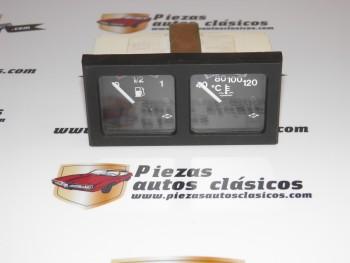 Conjunto Indicador Combustible + Indicador Temperatura 12V Ref:ast 192001/3
