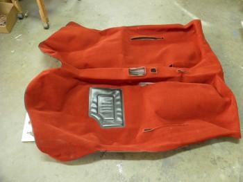Moqueta roja completa Seat 600