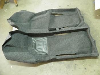 Moqueta gris completa Seat 600