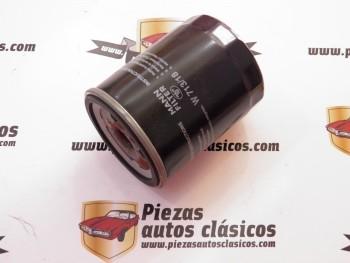 Filtro de aceite  W713/18  Opel Ascona C, Astra F, Combo I, Kadett D/E y Vectra A