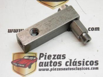 Racor adaptador presión temperatura aceite Renault 5,7,8,10,12......