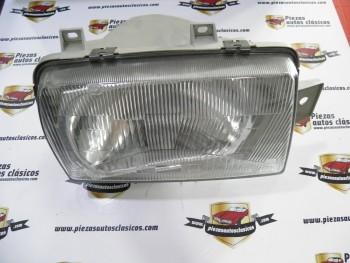 Óptica de faro delantera derecha H4  Seat Ibiza  del año 84  Ref: 10121041002