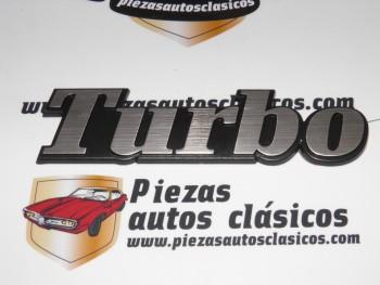 Anagrama Turbo Trasero Renault 5,Super 5,9,11,18,21....