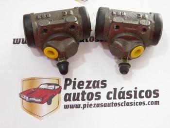 Pareja De Bombines De Freno Traseros Renault Super 5 , 9, 11, 14, 18, Fuego, Express,...Ref: 7702163416 / 7702163417