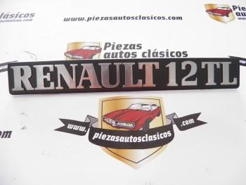 Anagrama Renault 12 TL