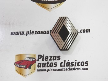 Emblema anagrama Renault Universal  62x50 mm. plástico
