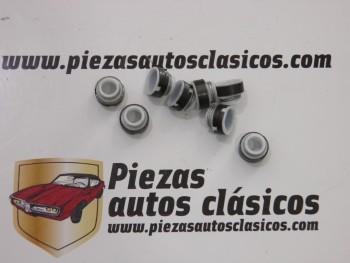 Juego 8 retenes de válvula Teflón Renault 9, 11, 12 y Super 5 GT Turbo ... 6mm. Ref: 7700658325