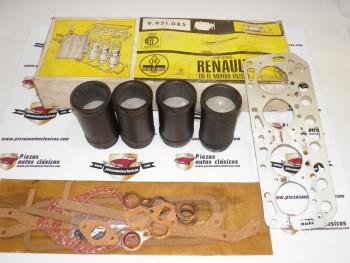 Equipo Motor Completo + Jgo. Juntas Tarabusi 58mm Renault 4 , Dauphine y Florida Ref:9951085