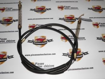 Cable Freno De Mano Seat 127, 2300mm Ref: 902562
