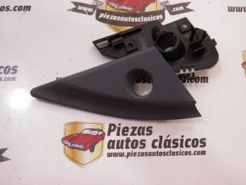 Tapa + soporte interior espejo retrovisor derecho Renault 21 Ref: 7700764275