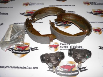 Kit de frenos traseros 180x40 Renault 9 y 11 Bendix 391153B