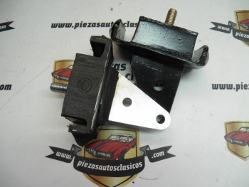 Par de silemblocks soporte motor Renault Dauphine, ondine, gordini
