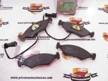 Juego pastillas de freno  RH 211932   Ford Fiesta I/II/III, Escort III/IV y Sierra