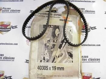 Correa dentada de distribución Gates  Opel Ascona, Astra, Manta, Kadett, Vectra   Ref: 90353211