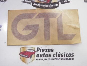 Anagrama adhesivo granate GTL Renault 5 GTL Ref: 7702110620