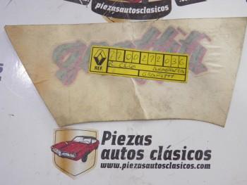 Anagrama adhesivo Grafitti Renault Clio Grafitti Ref: 7700272036