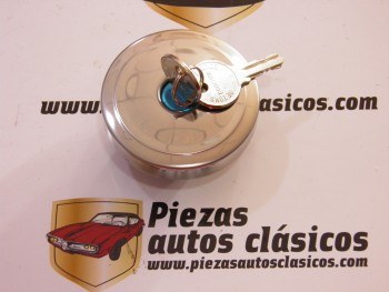 Tapón de gasolina cromado Renault 4, 5, 6, 16....