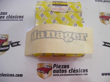 Anagrama adhesivo Manager Renault 21 Manager Ref: 7702150872