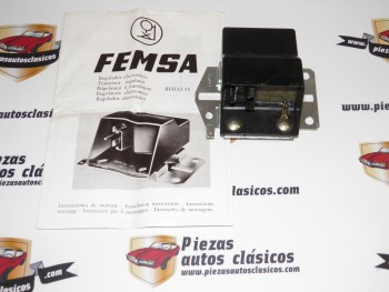 Regulador Electronico FEMSA RFH12-11 Renault 5 Copa, 6 TL, 7, 12 S/TL/TS...