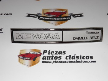 Anagrama Trasero MEVOSA Mercedes-Benz N1000