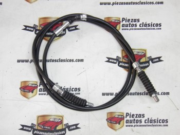 Cable de freno hasta el número de chasis 372240 Renault 8 , 10 y Dauphine ( Frenos Discos ) 1880mm