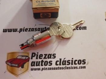 Cilindro de cerradura capó Renault 8 y 10 Clausor 53-00