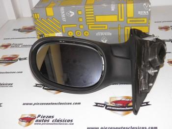 Espejo retrovisor derecho eléctrico + calefactor + sensor LAG (sin tapa) Renault Laguna I Ref: 7700410966