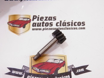 Piñón cable Cuentakilómetros (12 dientes) Renault 4, 5, 6 y 7 Caja 354 Ref: 7700556307