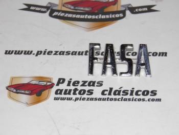 Anagrama FASA Para Renault 8 y 4