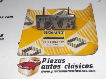 Anagrama TXE Renault 19/21 Ref: 7704003479