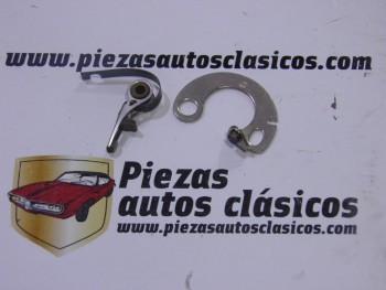 Juego de platinos para delco Ducellier Renault 4, 4/4 y Gordini Ref: 0854725600