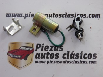 Juego de platinos + condensador para delco Ducellier Renault 9 y 11 (del 81 al 85) Ref: 9938266